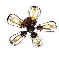 Industrial Style Ceiling Fan by Ceiling Fans With Lights White Fan Light Industrial Style