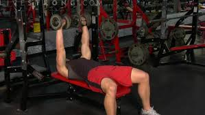 Flat Db Bench How To Do A Flat Dumbbell Press Youtube