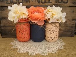 Home Decor Coral by Sale 3 Pint Mason Jars Decorative Mason Jars Wedding