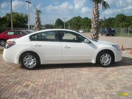 nissan altima white 2010 nissan altima 2 5 s in winter frost white 137950 autos of