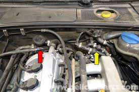 audi a4 b6 fixing common vacuum leaks 2002 2008 pelican parts