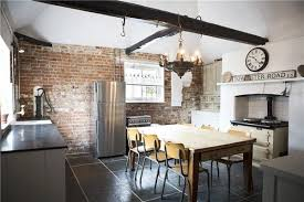 industrial style kitchens industrial kitchen design creates a