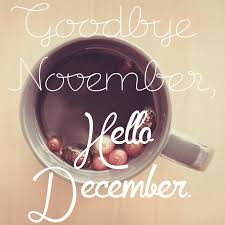 thanksgiving month goodbye november hello december the who loved to write