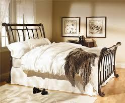 Metal Sleigh Bed Wesley Allen Iron Beds Brookshire Iron Sleigh Bed Wayside