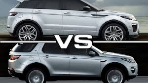 land rover vogue sport 2016 range rover evoque vs 2015 range rover discovery sport youtube