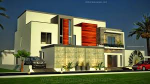Home Design Exterior Elevation Awesome 3d Home Design Front Elevation Gallery Interior Design