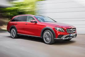 lifted cars mercedes gets a lift new e class all terrain revealed by car magazine