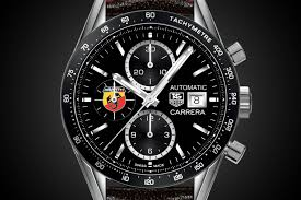tag heuer carrera tag heuer and abarth partner with the abarth 595 competizione by