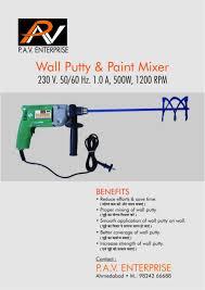 wall putty mixing machine buy wall putty mixing machine product