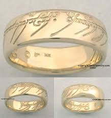 the one ring wedding band premium one ring of power from lord of the rings
