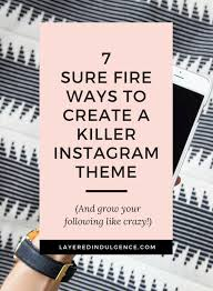 take a look at my best instagram tips for bloggers if you want to