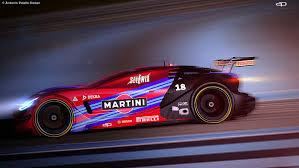 alfa romeo martini racing alfa romeo c18 design study is a futuristic 8c competizione