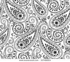 paisley pattern vector seamless paisley pattern stock vector paisleys pinterest