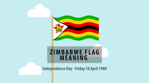 Flag Color Meanings Zimbabwe Flag Meaning Youtube