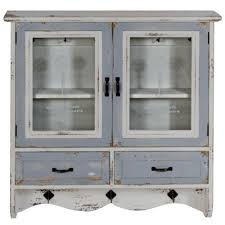 white kitchen wall display cabinets kitchen wall mount cabinet shabby chic distressed doors
