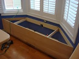 Window Storage Bench Seat Plans by Window Seats With Storage U Design Blog As Wells As Bay Window