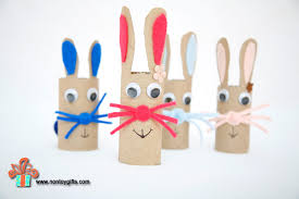 Cheap Easter Decorations To Make 20 super cute bunny crafts for kids to make