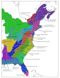 Map Of East Coast Of Usa ecoregional plans