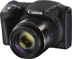 canon powershot sx420 is black 20 megapixel camera with 42x