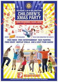 rotary children u0027s xmas party seaworks
