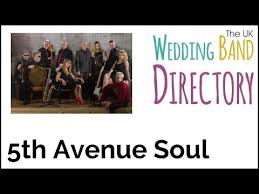 5th avenue wedding band soul motown wedding band hire hshire 5th avenue soul