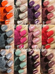 the polishaholic opi spring 2012 holland collection swatches
