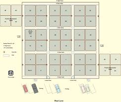 Garden Plot Layout Initially There Will Be 36 20 X 20 Garden Plots With Access To