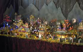 Department 56 Halloween Decorations by Halloween Village Display Halloween Spooky Pinterest