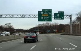 Mass Pike Exits Map Two Day Drive Along I 95