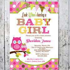 Free Printable Baby Shower Free Printable Baby Shower Invitations For Girls