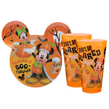 mickey mouse halloween kids dinner set disney pinterest