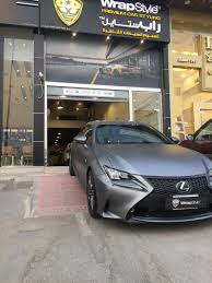 lexus rc 350 matte black wrapstyle riyadh on twitter
