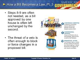 chapter 12 congress in action section 1 ppt download