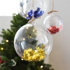 clear plastic ornaments 3pcs 15 5cm large size clear plastic decoration balls wedding baby