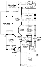house plans with butlers pantry home plan gavello sater design collection