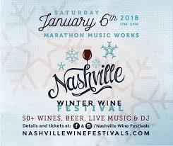 nashville wine festivals to host the nashville winter wine at