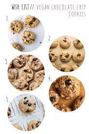 wish list wednesday vegan chocolate chip cookies a sunshine