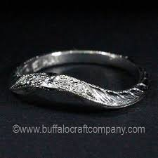 custom wedding bands woman s custom wedding band gallery buffalo craft company llc