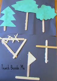the legend of three trees craft teach beside me