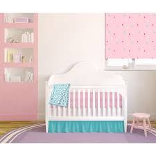 Pink And Teal Crib Bedding by American Baby Company Pink Teal Chevron 4 Piece Baby Crib Bedding
