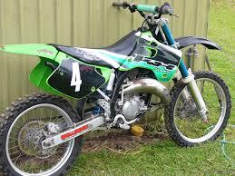 kawasaki kx 125 1994 u2013 idee per l u0027immagine del motociclo