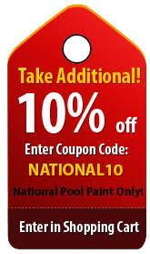 pool paint polymetric non skid quart