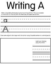 awesome printable worksheets from crayola for your preschool age