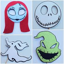 nightmare before christmas party supplies the nightmare before christmas photo booth props christmas photo
