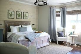 master bedroom makeover master bedroom makeover with shiplap accent wall by www