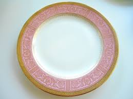 thanksgiving dishware pink and gold wedgwood dinner plate 11