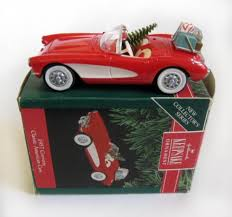 1957 corvette classic american cars series hallmark ornament 1991