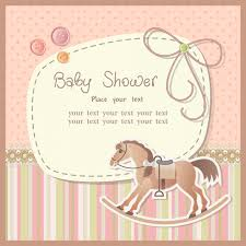 horse baby shower invitations baby shower cards invitations baby shower invitations card