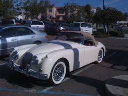 antique jaguar jaguar xk roadster by thekyle