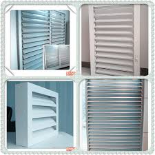 cheap price aluminum frame adjustable glass louver ventilation